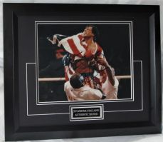 "AAA  Sylvester Stallone signed "" ROCKY"""